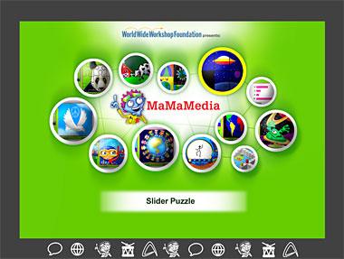 MaMaMedia OLPC Activity Screen